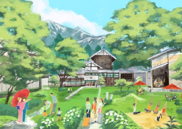 着物を起点に⼭形県の魅力を伝える 「きものリトリートホテル」が2021年春に開業へ