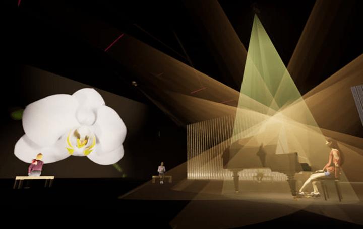 グレン・グールドの音楽表現を学習したAIが 日本科学未来館のイベント「ひらめきの庭」にピアノ演奏を披露