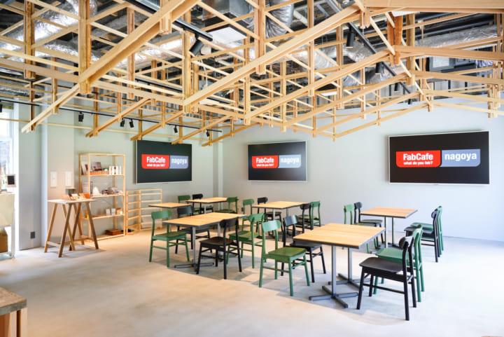 日本国内で4拠点目となる「FabCafe Nagoya」が RAYARD Hisaya-odori Park 内にオープン