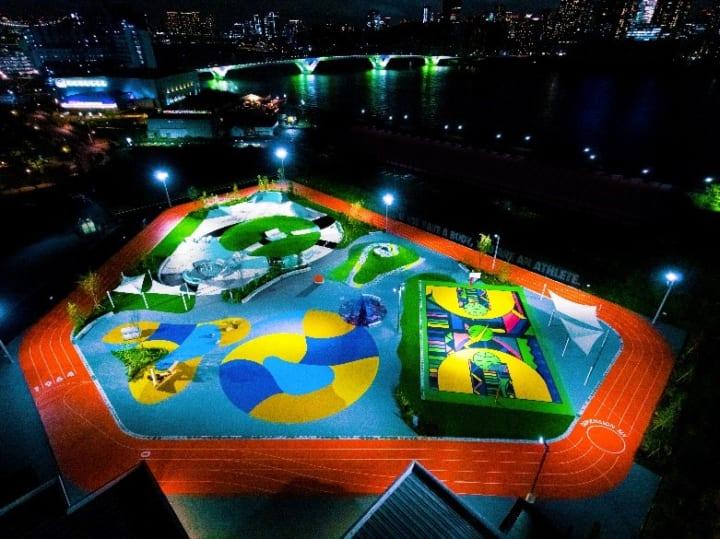ナイキによる、インクルーシブデザインを取り入れた 「TOKYO SPORT PLAYGROUND SPORT×ART」がオープン
