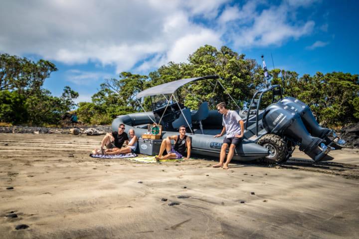 世界最大の水陸両用クルーザー 「Sealegs 12m Cabin RIB」のデザイン公開