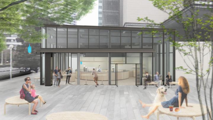 芦沢啓治建築設計事務所が店舗デザインを担当 ブルーボトルコーヒー みなとみらいカフェがオープン
