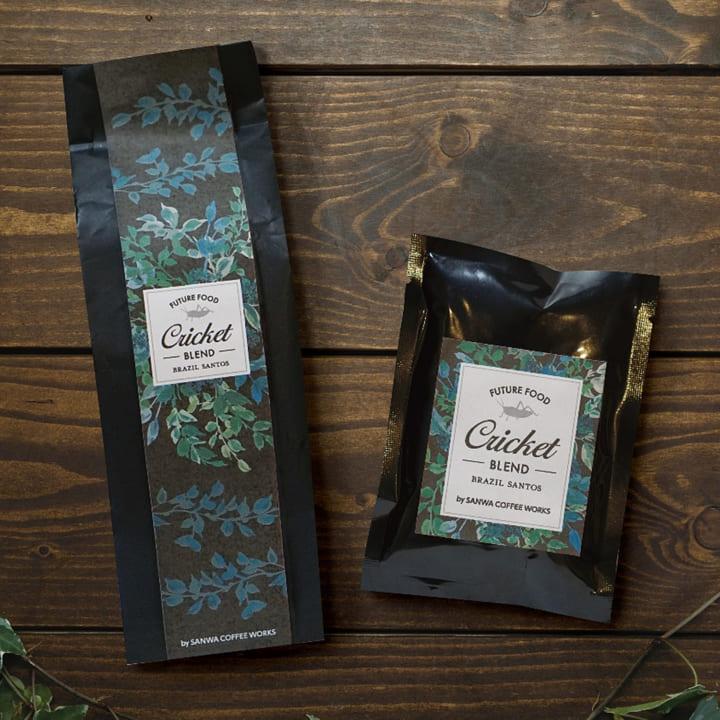 昆虫食を愛する大学生とコーヒー焙煎士が作った 「コオロギコーヒー」が誕生