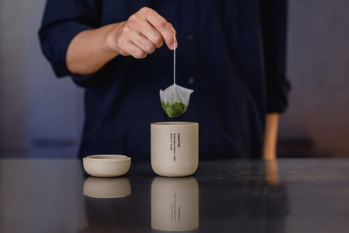 働く人のための湯のみ「チャプター」 日本茶「美濃加茂茶舗」とTENTが共同でデザイン