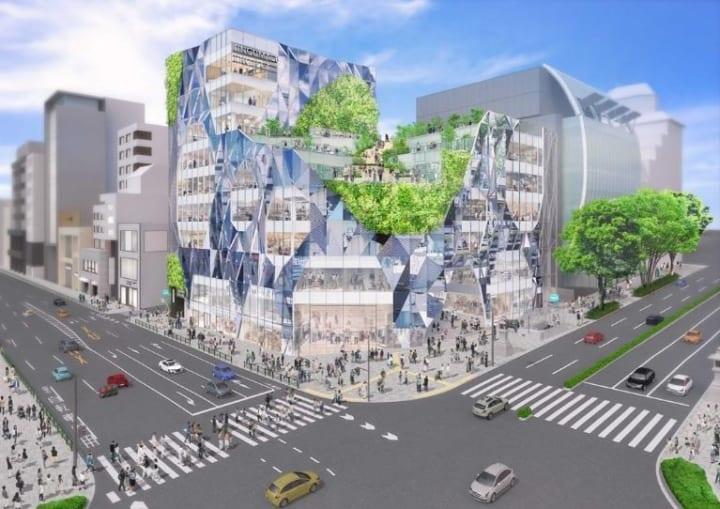 2022年に表参道の新たなランドマークが誕生 建築家 平田晃久が外装・屋上デザインを担当