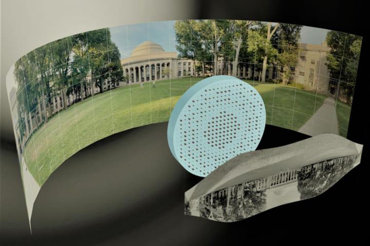 MITが開発、鮮明な180度のパノラマ画像が 撮影できる「フラットな魚眼レンズ」