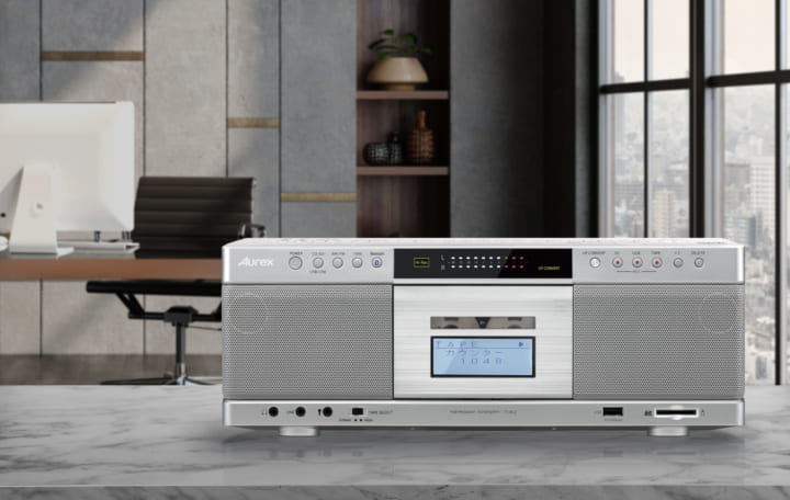 東芝、Bluetooth®送信機能搭載の CDラジカセ「TY-AK2」を発売