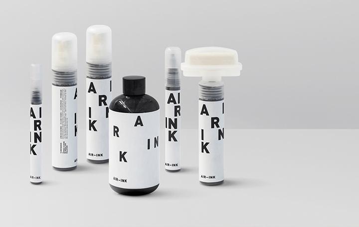 大気汚染物質「PM2.5」問題に取り組む 排出された炭素をアップサイクルしたインク「AIR-INK®」