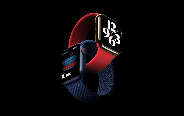 Apple Watch Series 6、血中酸素ウェルネスセンサーを搭載 多彩な仕上げのケースとバンドを提供