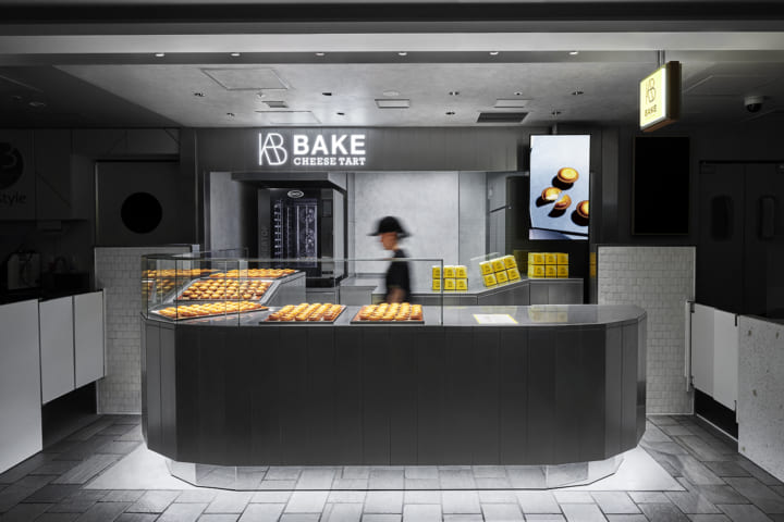 デザインオフィス「イド」が店舗設計を手がけた 「BAKE CHEESE TART」CIAL横浜店