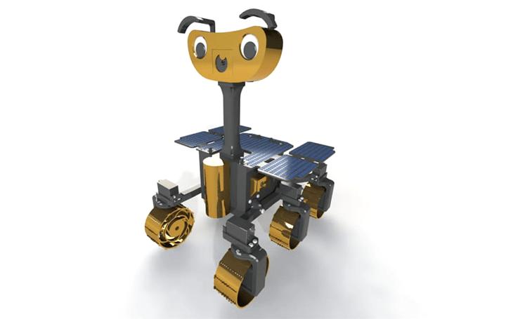 火星探査車をモデルにした 3Dプリントローバー「ExoMy」オープンソースを公開