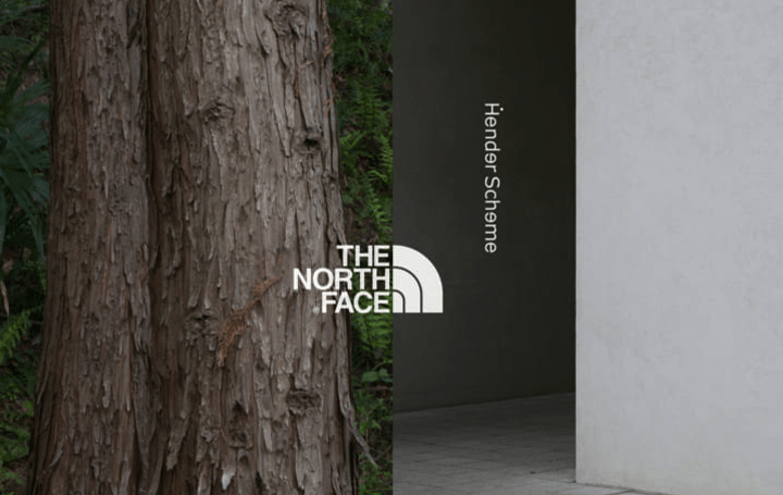THE NORTH FACE × Hender Scheme 両者の持つ素材、機能性などを結合させた新モデル