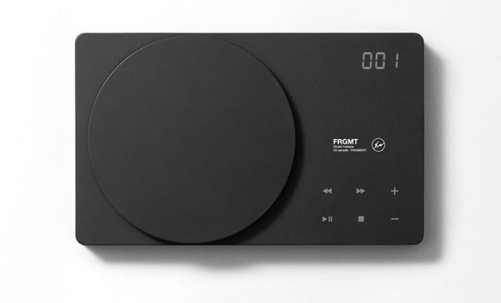 fragment design×蔦屋家電 Bluetooth(R)機能付きCDプレーヤー「BCPLAY_」スペシャルモデルが登場