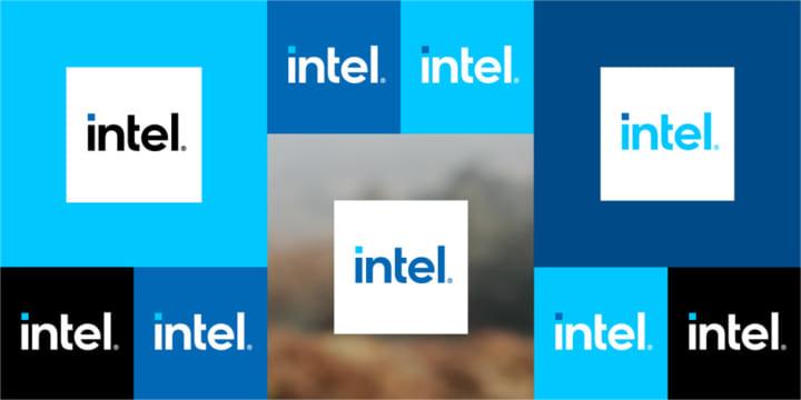 インテル、ブランドロゴを一新 過去のデザインを継承しながら文字を大きく強調