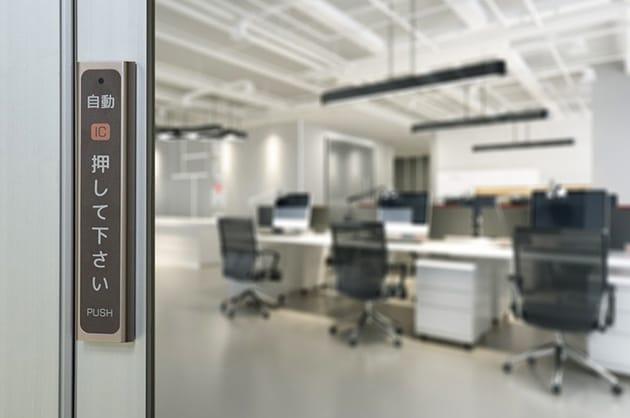 自動ドアの稼働時間を自由に設定できる タッチスイッチ「IC TIME-S」が登場