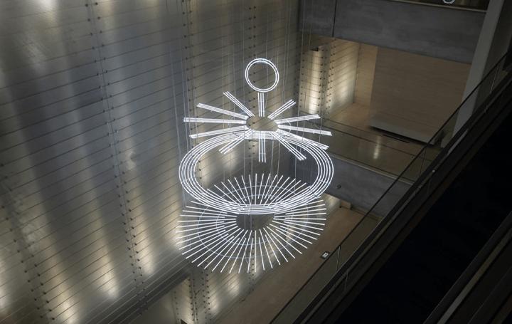 アーティストCerith Wyn Evansの大型インストレーション ポーラ美術館での初公開