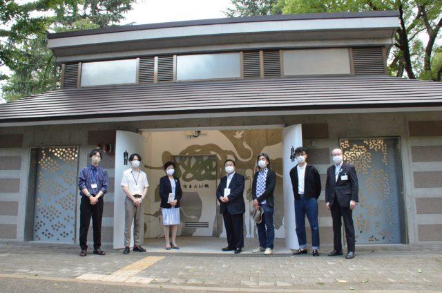 東京藝術大学の学生が企画提案 上野公園の「上野トイレミュージアム」がオープン
