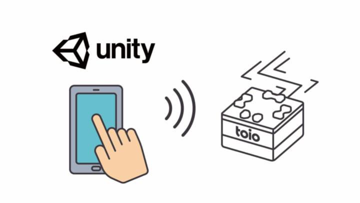 キューブ型ロボット「toio」 Unity対応開発環境「toio SDK for Unity」無償で配信