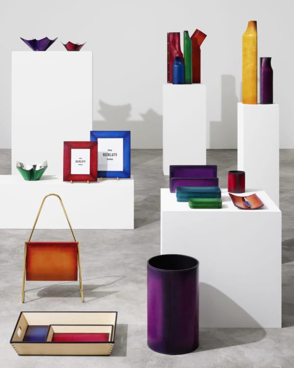 フランスのブランド・ベルルッティ 上質なホーム&オフィス オブジェ コレクションを発売
