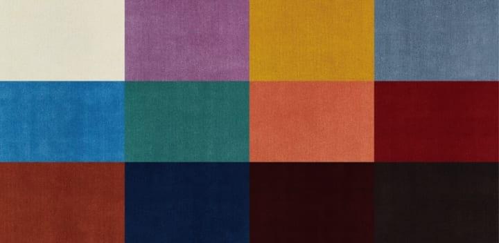 トラフ建築設計事務所と山形緞通のコラボ じゅうたんコレクション「MANYO」がリリース
