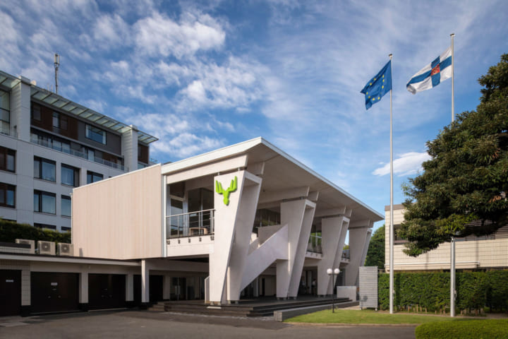フィンランドの森を感じるパビリオンが大使館に出現 個人個人が森を支える仕組みとは