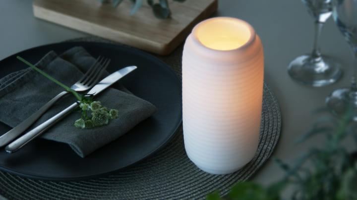 ゆっくりと時間を愉しむ 提灯型のキャンドル「Chouchin Candle」