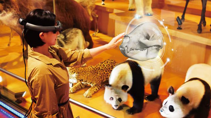 新しい博物館展示を体験 「ドコモ×国立科学博物館 XRで楽しむ未来の展示」開催