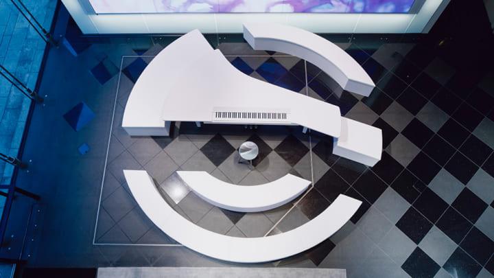 ヤマハ銀座店にインタラクティブな音楽体験を提供する 「ブランド体験エリア」が新オープン