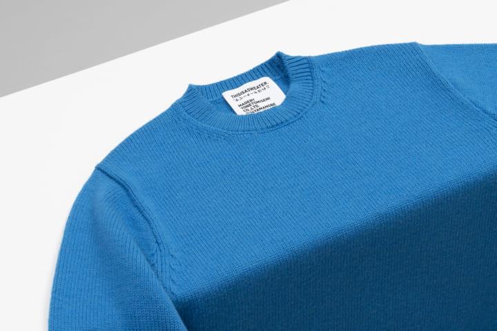ニットファクトリー 米富繊維から「セーターとは何か?」を問う 新ブランド「THIS IS A SWEATER.」が誕生
