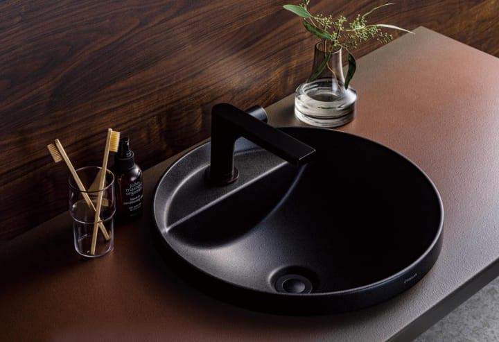 人造大理石素材で心地よい 衛生設備まわりの空間を演出する洗面ボウル