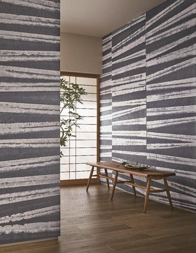 凸版印刷、新たな日本の伝統美で演出する 和紙を使った不燃壁紙ブランド「INSHU」を開発