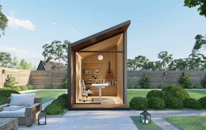 米Autonomousが提案 屋外設置型のプライベートワークスペース「Zen Work Pod」