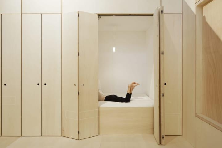 ベイルートの建築家 リナ・ゴットメが設計 フレキシブルで実験的なホテル「Zero carbon hôtel」