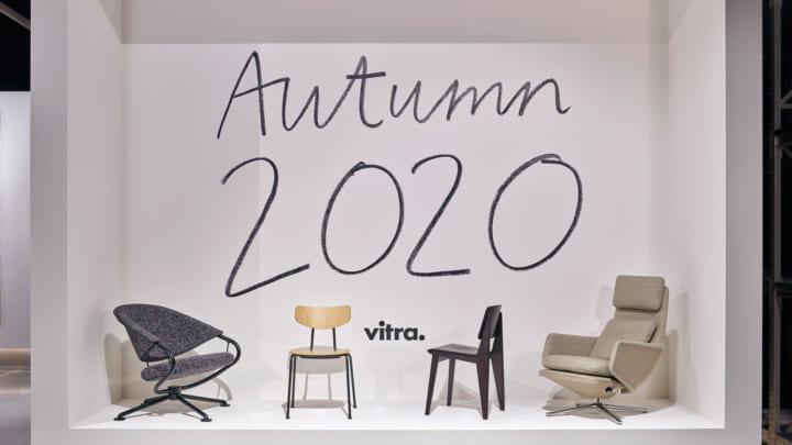 Vitra、ホームコレクションAutumun 2020の新製品を公開 ジャン・プルーヴェ「シェーズ トゥ ボワ」が復刻