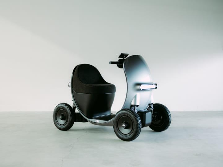シニア世代が「乗りたくなる」 小型モビリティのコンセプトデザイン