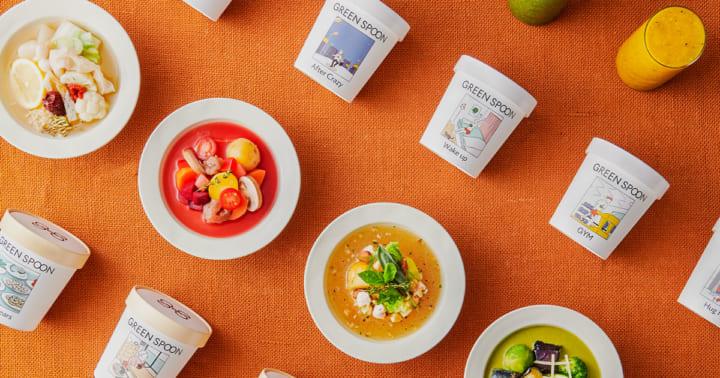 定額制パーソナルフード「GREEN SPOON」による 野菜とゴロゴロ食材のスープが登場