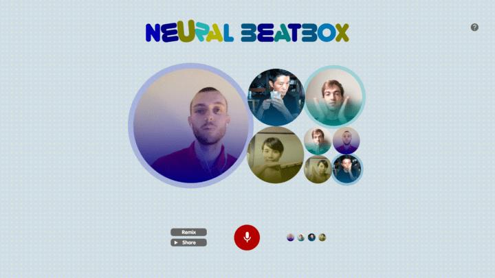 自分×AIが奏でるリズムを体験できる QosmoによるWebサイト「Neural Beatbox」