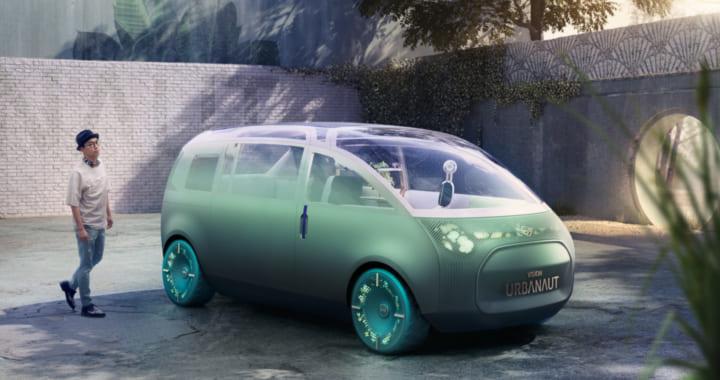 MINIの新しいコンセプトカー 広々とした車内空間を提案