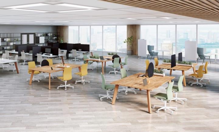 コクヨ、オフィス環境変化に対応する オフィス用プロダクトを公開