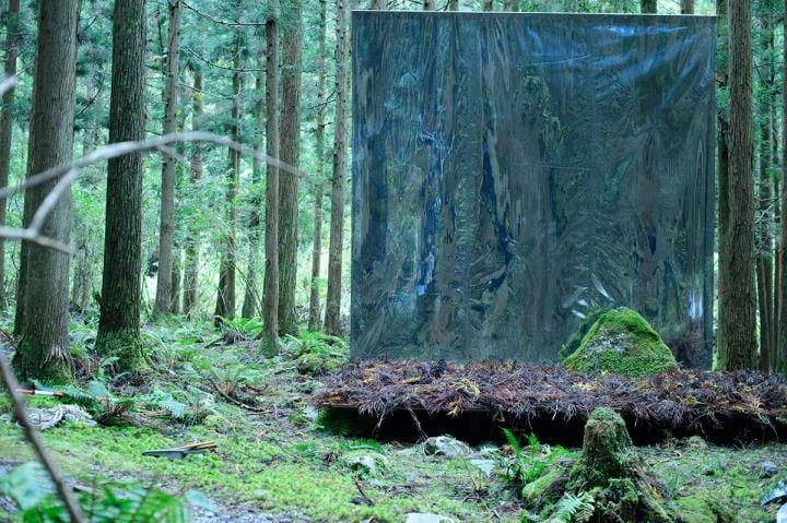 奈良の大自然にインスパイアされた芸術祭に 建築家・佐野文彦の作品を披露