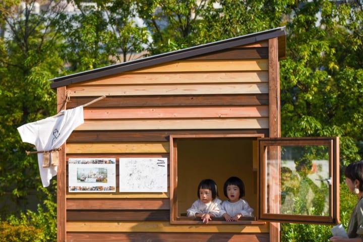 移動する家「モバイルハウス」や「タイニーハウス」展 南池袋公園にて開催