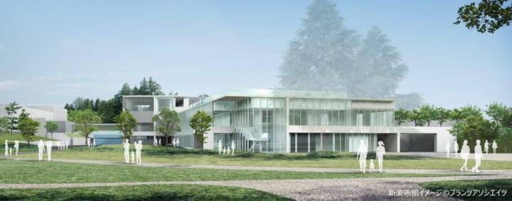 長野県信濃美術館が「長野県立美術館」としてリニューアル 中谷芙二子の「霧の彫刻」がシンボル的作品に