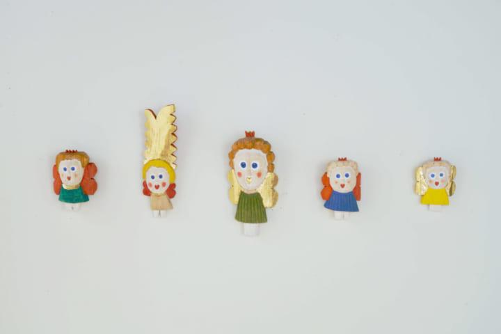 IDÉE Galleryに、スウェーデンの美術作家の 彫刻作品とチョコレート「天使とチョコレート」展開催
