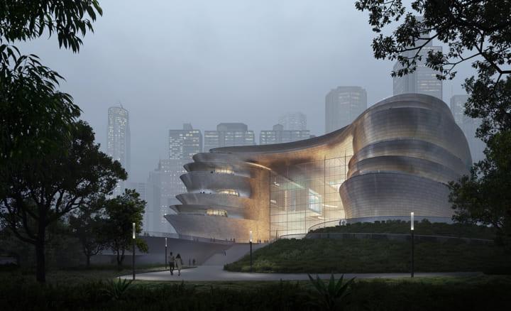 Zaha Hadid Architectsが設計する深圳の博物館 「Shenzhen Science & Technology Museum」