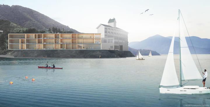 島根県隠岐諸島に新しい贅沢を提案する ジオパーク×ホテル「Entô」がオープン