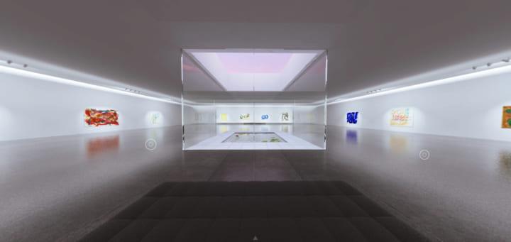 絵画作品をバーチャル空間に展示 仮想美術館「In ART」