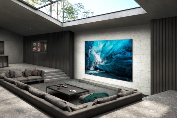 サムスン、110インチ大画面の 壁掛け型マイクロLEDテレビを発表