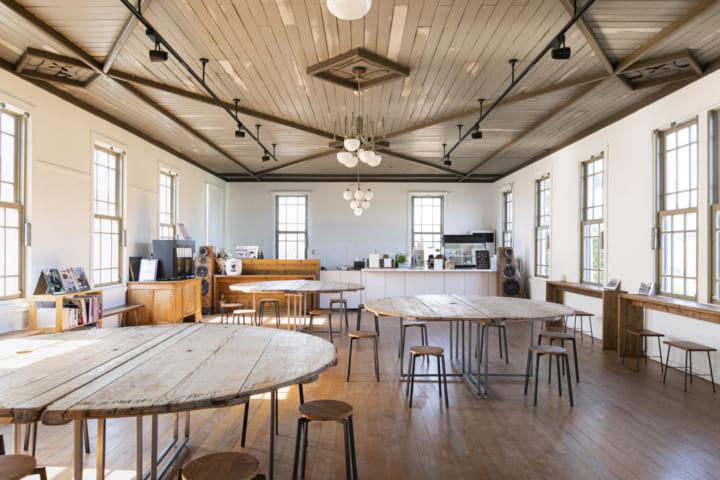 歴史ある酒造りを伝えるために改装した 山口県宇部市の永⼭本家酒造場