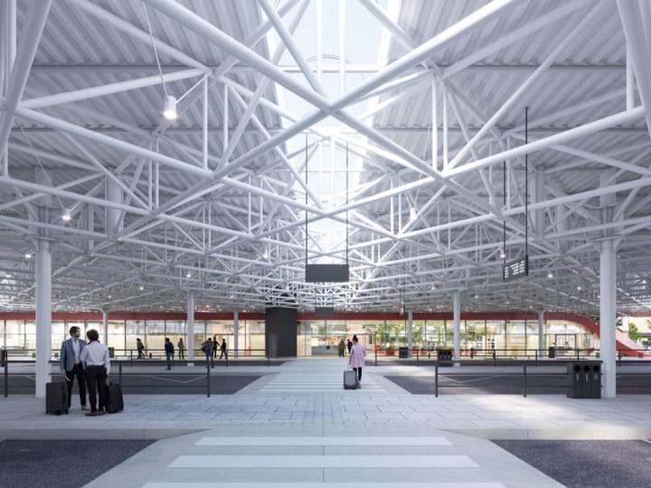 ブルータリズムの建築をリデザイン チェコのバスターミナル「Zvonařka Central Bus Terminal」