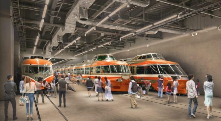 「ロマンスカーミュージアム」が2021年4月中旬に開業 歴代車両や小田急沿線を再現した巨大ジオラマを展示